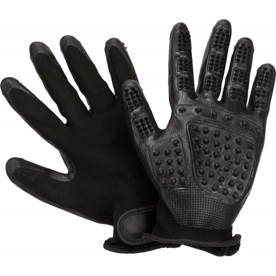 Picture of Fur care gloves nylon/rubber