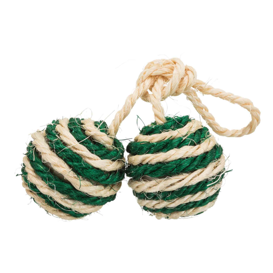 Picture of 2 Balls on a rope sisal 4,5cm