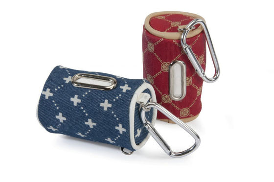 Picture of Scoop bag dispenser Lux Jacquard with 20 bags
