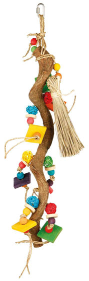 Picture of Wooden Toy With Wicker Balls 56cm