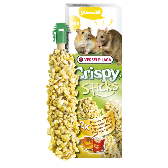 Picture of Crispy Sticks Popcorn and Honey 55gr