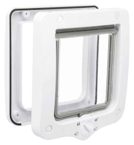 Picture of 4-Way cat flap 20x22cm white