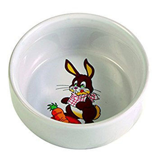 Picture of Ceramic bowl with motif rabbit 250 ml/ 1