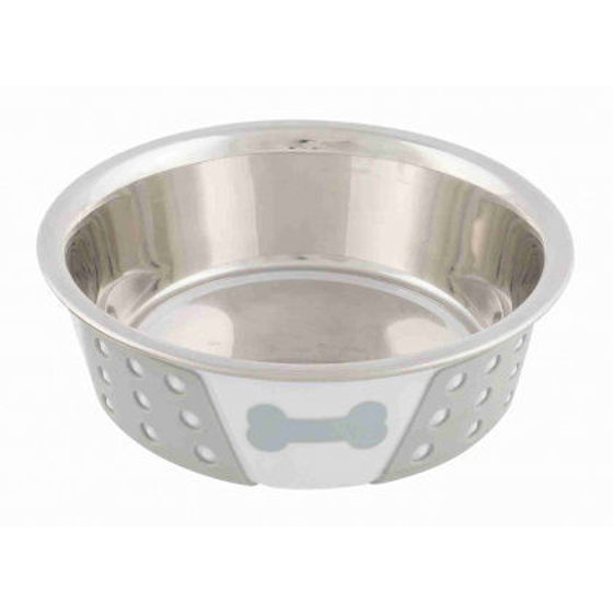 Picture of Stainless Steel Bowl with silicon 0,4l
