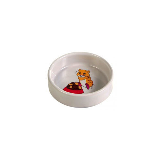 Picture of Ceramic bowl with motif hamster 90 ml/ 8