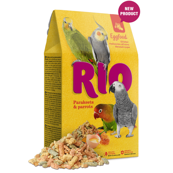 Picture of RIO Eggfood for parakeets and parrots 250 g