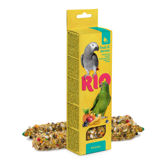 Picture of RIO Sticks parrots with fruit and berries, 2x90g
