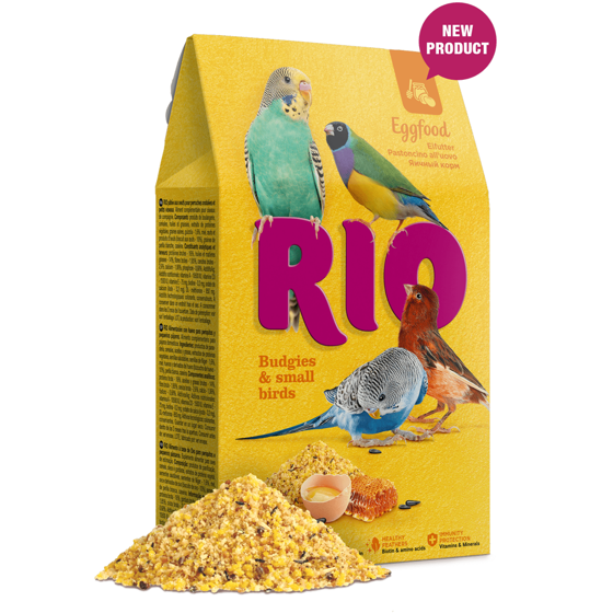 Picture of RIO Eggfood for budgies and other small birds,250g