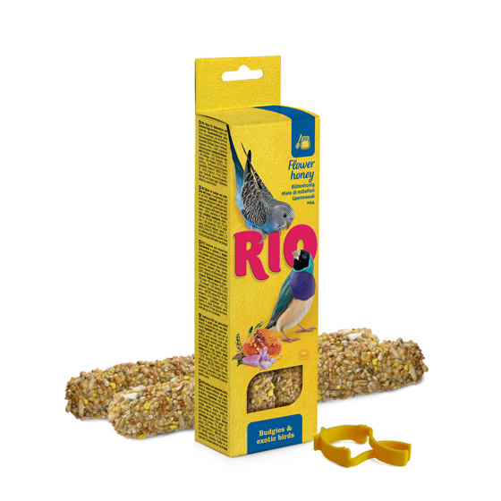 Picture of RIO Sticks for budgies and exotic birds with honey