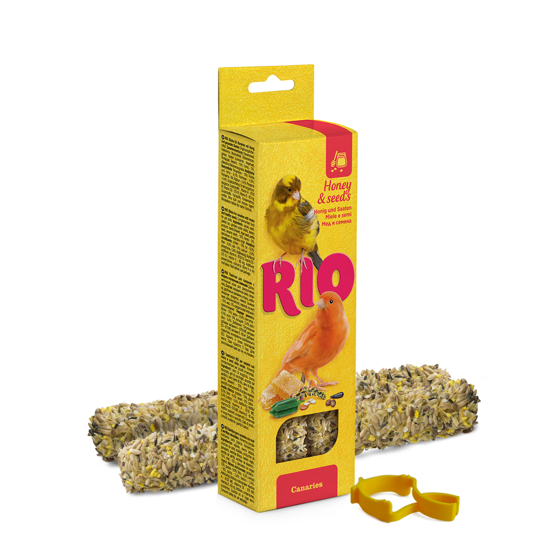 Picture of RIO Sticks for canaries with honey,seeds 2x40g