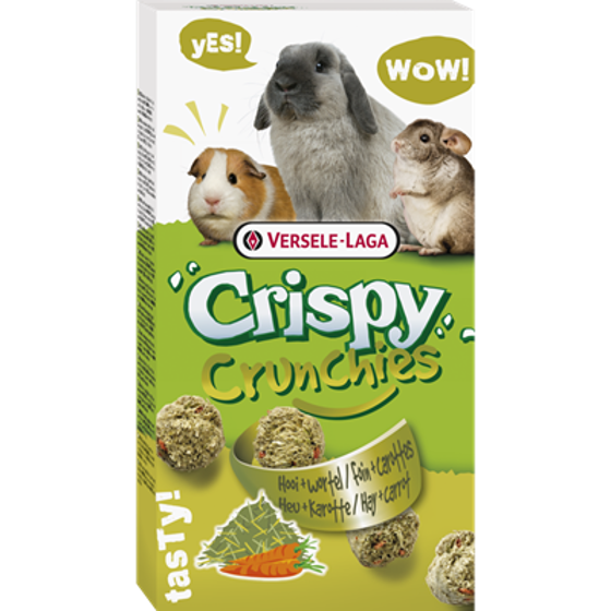 Picture of Crispy chrunchies Hay & carrot 75g