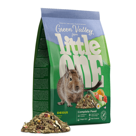 """Picture of Little One """"Green valley"""". Fibrefood degu 750g"""