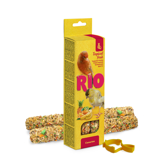 Picture of RIO Sticks for canaries with tropical fruit, 2x40