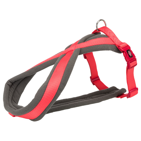Picture of Premium touring harness M 45-80cm/25mm coral