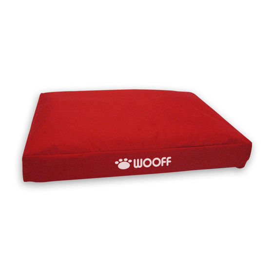 Picture of Wooff Box Uni 70 x 110 x 15 cm red