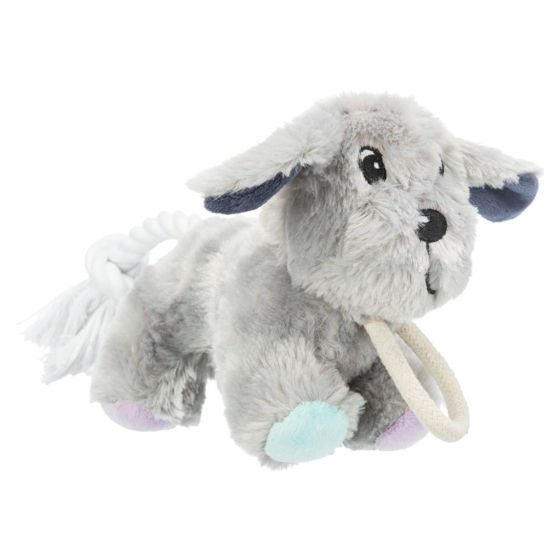 Picture of Junior dog with rope plush 24cm