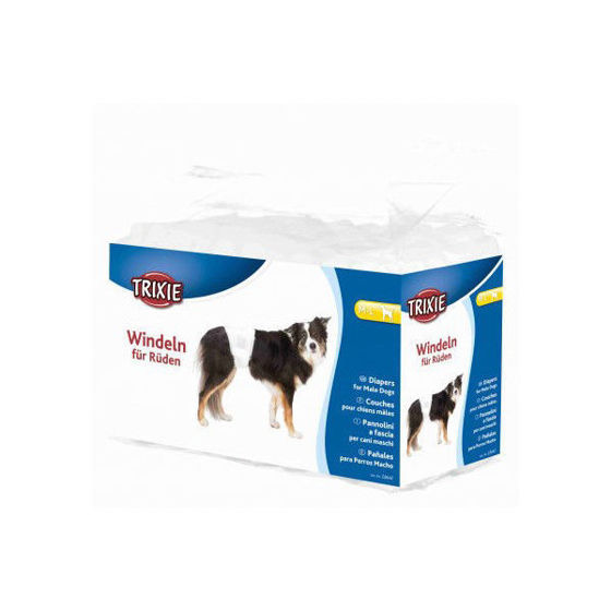 Picture of Diapers male dogs M-L 46-60 cm 12 pcs