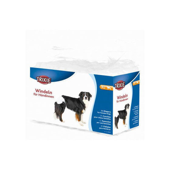 Picture of Diapers female dogs XL 40-58 cm 12 pcs