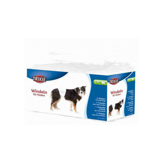 Picture of Diapers male dogs S-M 30-46 cm 12 pcs.