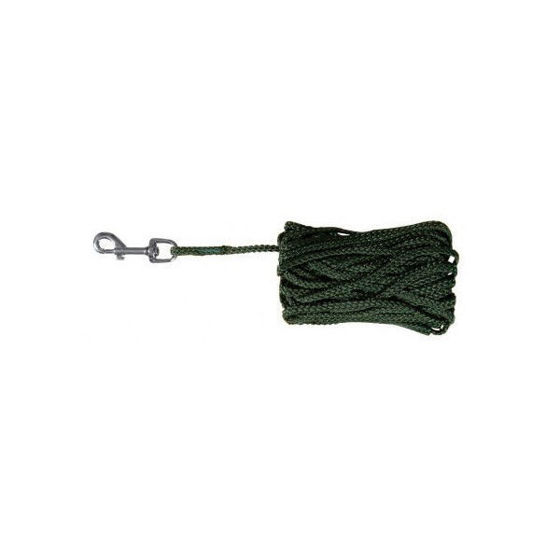 Picture of Tracking leash 10 m/ 5 mm green