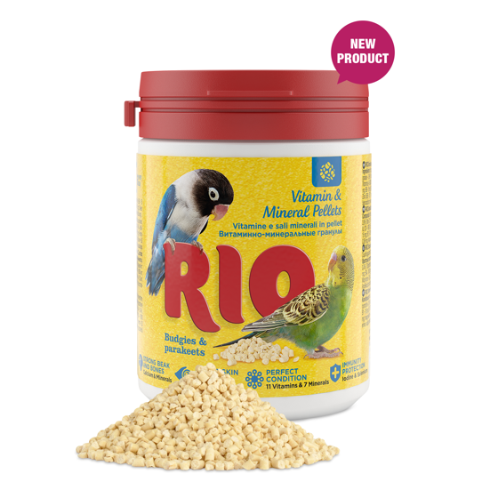 Picture of RIO Vitamin and mineral pellets for budgies 120g