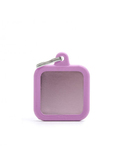 Picture of PINK SQUARE ALU PINK RUBBER