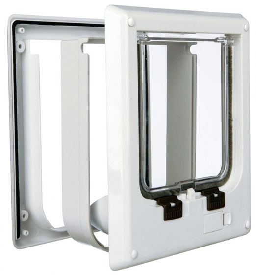 Picture of 4-Way cat flap magnetic 21.1 × 24.4 cm