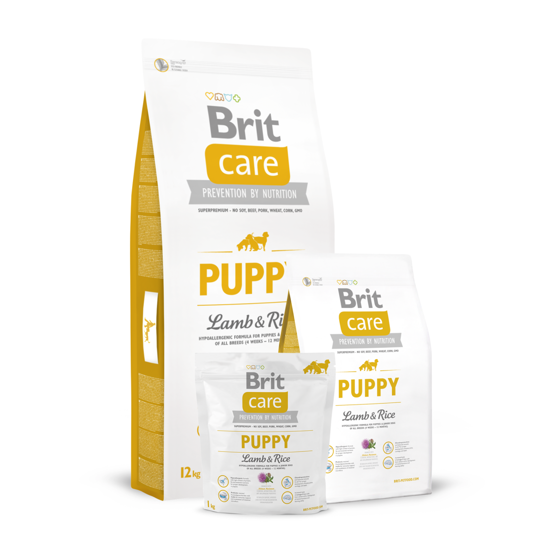 Picture of Brit Care Puppy Lamb & Rice 3kg