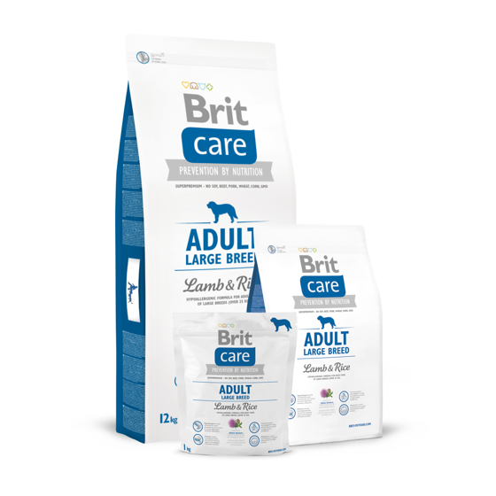 Picture of Brit Care Adult Large Breed Lamb & Rice 3kg