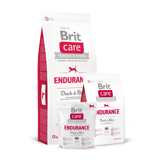 Picture of Brit Care Endurance  Hypoallergenic DUCK & RICE 12kg