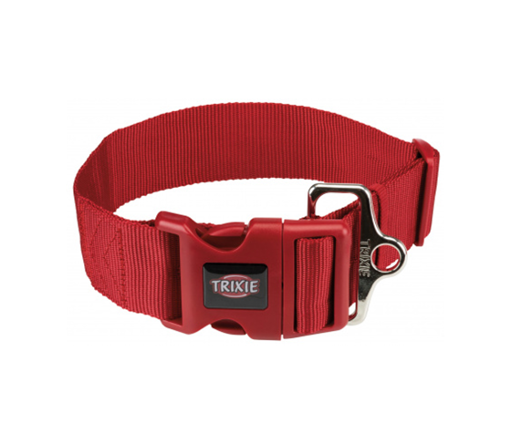 Picture of Premium collar M-L 35-55cm/20mm red