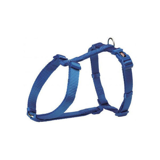 Picture of H-harness S-M 42-60cm/15mm blue