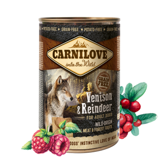 Picture of Carnilove can Venison & Reindeer 400g