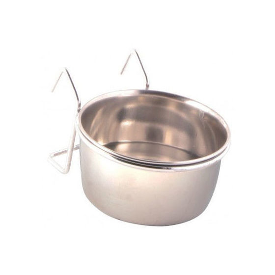 Picture of Stainl.steel bowl w. holder 300ml/O9cm