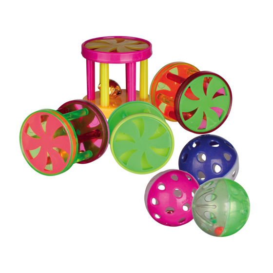 Picture of Balls and rolls with bell 4.5 cm