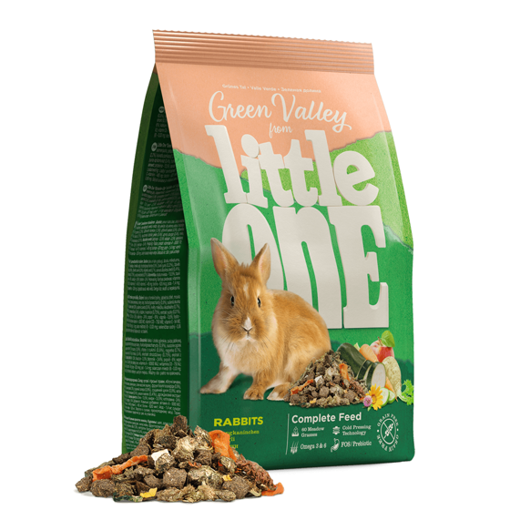 Picture of Little One Green valley.For rabbits 15 kg