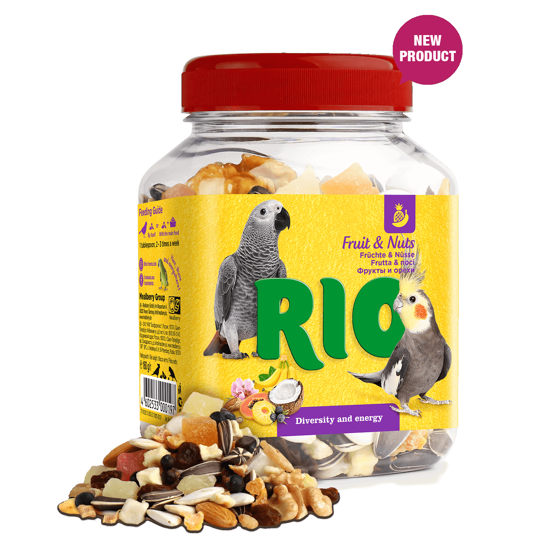 Picture of RIO Fruit & Nuts Mix. Treat for birds, 160g