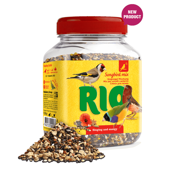 Picture of RIO Songbird mix. Treat for all birds, 240g