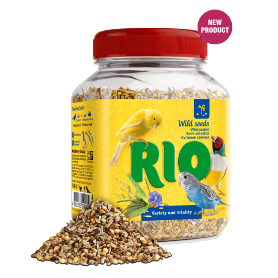 Picture of RIO Wild seeds mix. Treat for all birds, 240g