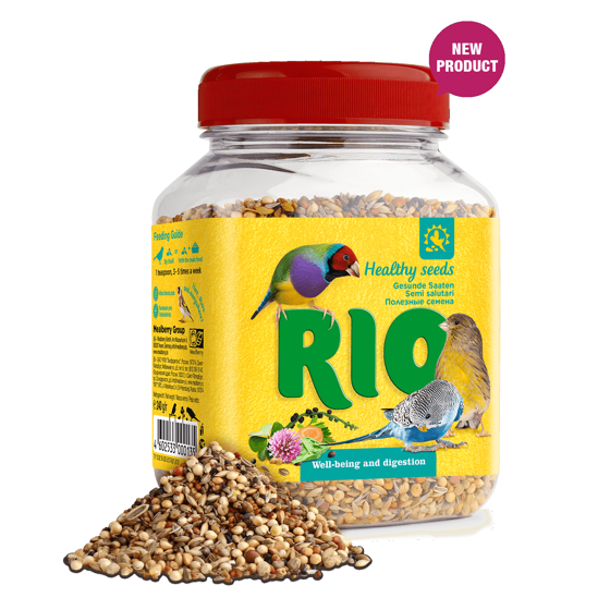 Picture of RIO Healthy seeds.Treat for all birds, 240g