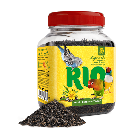 Picture of RIO Niger seed. Treat for all birds, 250 g