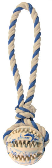 Picture of Denta Fun rubber ball on a rope 7 cm/24