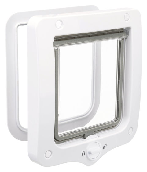 Picture of 2-Way cat flap 20x22cm white