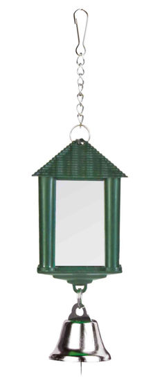 Picture of Lantern mirror with bell / chain 6cm
