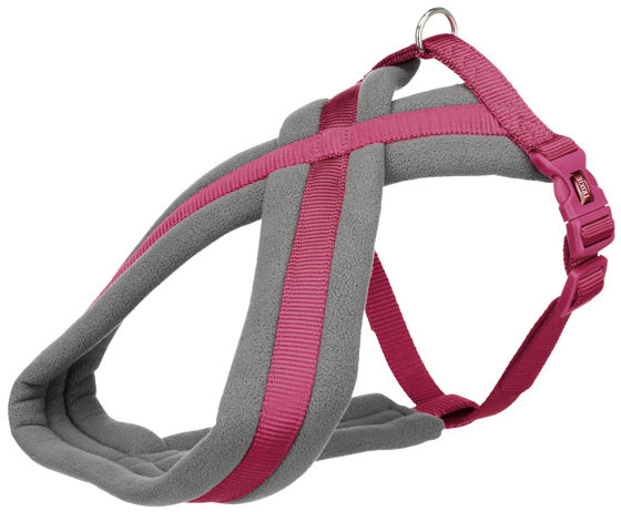 Picture of Premium touring harness M 45-80cm/25mm orchid