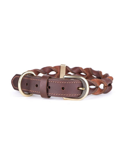Picture of Collar 30-36 CM Leather - Brown