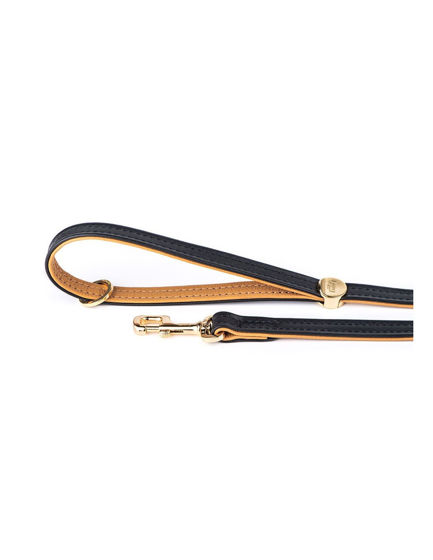 Picture of MyFamily Leash 2,2/110 CM Black - 24ct gold