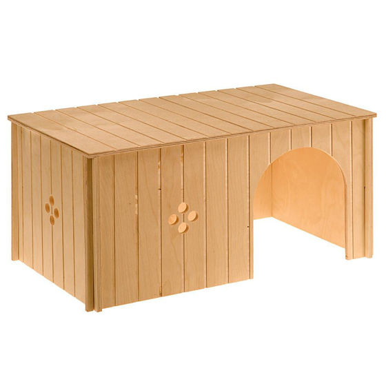 Picture of Sin Maxi Wooden House Rabbit